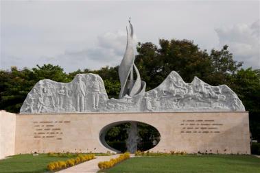 Monumento-ubicado-en-la-Plaza-de-la-Patria